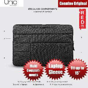 Picture of Uniq Cavalier Laptop Sleeve with Multi compartment fit up to 15 inches (Black) Red Design- Red Design Cases, Red Design Covers, iPad Cases and a wide selection of Red Design Accessories in Malaysia, Sabah, Sarawak and Singapore