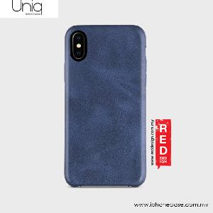 Picture of Uniq Outfitter Vintage Back Case for Apple iPhone X (Blue) Apple iPhone X- Apple iPhone X Cases, Apple iPhone X Covers, iPad Cases and a wide selection of Apple iPhone X Accessories in Malaysia, Sabah, Sarawak and Singapore
