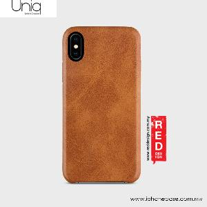 Picture of Uniq Outfitter Vintage Back Case for Apple iPhone X (Brown) Apple iPhone X- Apple iPhone X Cases, Apple iPhone X Covers, iPad Cases and a wide selection of Apple iPhone X Accessories in Malaysia, Sabah, Sarawak and Singapore