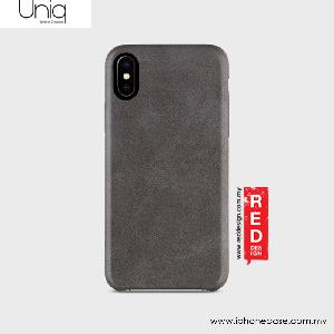 Picture of Uniq Outfitter Vintage Back Case for Apple iPhone X (Dark Grey) Apple iPhone X- Apple iPhone X Cases, Apple iPhone X Covers, iPad Cases and a wide selection of Apple iPhone X Accessories in Malaysia, Sabah, Sarawak and Singapore