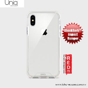Picture of Uniq Combat Impact Bumper Case for Apple iPhone X (White) Apple iPhone X- Apple iPhone X Cases, Apple iPhone X Covers, iPad Cases and a wide selection of Apple iPhone X Accessories in Malaysia, Sabah, Sarawak and Singapore
