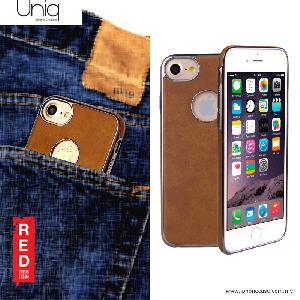 Picture of Uniq Glacier Luxe Hybrid TPU Leatherrete Soft Back Cover Case for Apple iPhone 7 iPhone 8 4.7 - Camel Apple iPhone 8- Apple iPhone 8 Cases, Apple iPhone 8 Covers, iPad Cases and a wide selection of Apple iPhone 8 Accessories in Malaysia, Sabah, Sarawak and Singapore