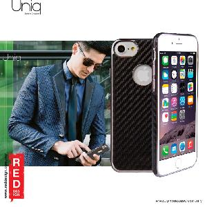 Picture of Uniq Glacier Luxe Hybrid TPU Leatherrete Soft Back Cover Case for Apple iPhone 7 iPhone 8 4.7 - Carbon Black Apple iPhone 8- Apple iPhone 8 Cases, Apple iPhone 8 Covers, iPad Cases and a wide selection of Apple iPhone 8 Accessories in Malaysia, Sabah, Sarawak and Singapore