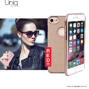 Picture of Uniq Glacier Luxe Hybrid TPU Leatherrete Soft Back Cover Case for Apple iPhone 7 iPhone 8 4.7 - Gold Apple iPhone 8- Apple iPhone 8 Cases, Apple iPhone 8 Covers, iPad Cases and a wide selection of Apple iPhone 8 Accessories in Malaysia, Sabah, Sarawak and Singapore