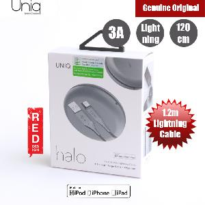 Picture of Uniq Halo 120cm Fast Charge Lightning Cable with Organiser (Grey) Red Design- Red Design Cases, Red Design Covers, iPad Cases and a wide selection of Red Design Accessories in Malaysia, Sabah, Sarawak and Singapore