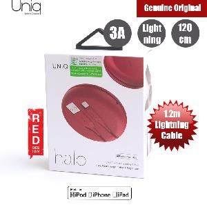 Picture of Uniq Halo 120cm Fast Charge Lightning Cable with Organiser (Red) Red Design- Red Design Cases, Red Design Covers, iPad Cases and a wide selection of Red Design Accessories in Malaysia, Sabah, Sarawak and Singapore