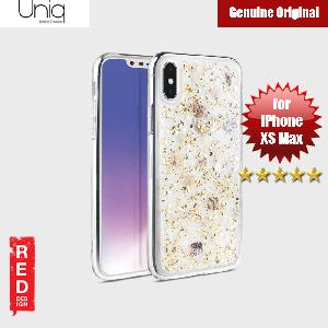Picture of Uniq Lumence Clear Genuine Glitz Seashells Soft Case for Apple iPhone XS Max (Gold) Apple iPhone XS Max- Apple iPhone XS Max Cases, Apple iPhone XS Max Covers, iPad Cases and a wide selection of Apple iPhone XS Max Accessories in Malaysia, Sabah, Sarawak and Singapore
