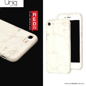 Picture of Uniq MARBRE Premium Leatherette Case for Apple iPhone 7 4.7 - White Apple iPhone 7 4.7- Apple iPhone 7 4.7 Cases, Apple iPhone 7 4.7 Covers, iPad Cases and a wide selection of Apple iPhone 7 4.7 Accessories in Malaysia, Sabah, Sarawak and Singapore