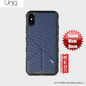 Picture of Uniq Transforma Rigor Standable Back Case for Apple iPhone X (Blue) Apple iPhone X- Apple iPhone X Cases, Apple iPhone X Covers, iPad Cases and a wide selection of Apple iPhone X Accessories in Malaysia, Sabah, Sarawak and Singapore