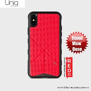 Picture of Uniq Transforma Rigor Standable Back Case for Apple iPhone X (Red) Apple iPhone X- Apple iPhone X Cases, Apple iPhone X Covers, iPad Cases and a wide selection of Apple iPhone X Accessories in Malaysia, Sabah, Sarawak and Singapore