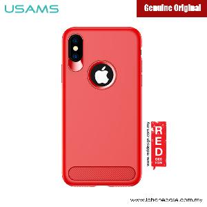 Picture of USAMS Muze Series Protection Case for Apple iPhone X (Red) Apple iPhone X- Apple iPhone X Cases, Apple iPhone X Covers, iPad Cases and a wide selection of Apple iPhone X Accessories in Malaysia, Sabah, Sarawak and Singapore