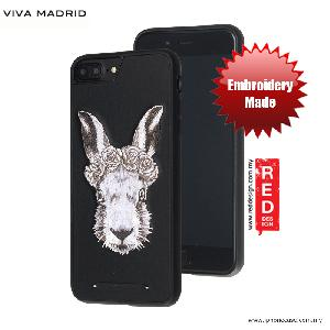 Picture of Viva Madrid  Embroidery Fashion Artwork Back Case for Apple iPhone 6S Plus 5.5 iPhone 7 Plus 5.5 - White Rabbit Apple iPhone 7 Plus 5.5- Apple iPhone 7 Plus 5.5 Cases, Apple iPhone 7 Plus 5.5 Covers, iPad Cases and a wide selection of Apple iPhone 7 Plus 5.5 Accessories in Malaysia, Sabah, Sarawak and Singapore