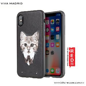 Picture of Viva Madrid Embroidery Fashion Artwork Back Case for Apple iPhone X (Feline Fine) Apple iPhone X- Apple iPhone X Cases, Apple iPhone X Covers, iPad Cases and a wide selection of Apple iPhone X Accessories in Malaysia, Sabah, Sarawak and Singapore