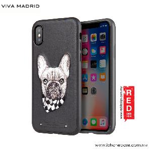 Picture of Viva Madrid Embroidery Fashion Artwork Back Case for Apple iPhone X (Pug Life) Apple iPhone X- Apple iPhone X Cases, Apple iPhone X Covers, iPad Cases and a wide selection of Apple iPhone X Accessories in Malaysia, Sabah, Sarawak and Singapore