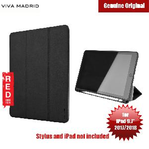 Picture of Viva Madrid Elegante Series Flip Cover Case with Pen Holder for Apple iPad 9.7 2017 2018 (Black) Apple iPad 9.7 2017- Apple iPad 9.7 2017 Cases, Apple iPad 9.7 2017 Covers, iPad Cases and a wide selection of Apple iPad 9.7 2017 Accessories in Malaysia, Sabah, Sarawak and Singapore