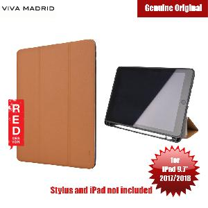 Picture of Viva Madrid Elegante Series Flip Cover Case with Pen Holder for Apple iPad 9.7 2017 2018 (Brown) Apple iPad 9.7 2018- Apple iPad 9.7 2018 Cases, Apple iPad 9.7 2018 Covers, iPad Cases and a wide selection of Apple iPad 9.7 2018 Accessories in Malaysia, Sabah, Sarawak and Singapore