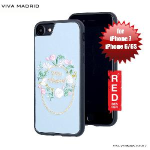 Picture of Viva Madrid Fleur Synthetic Leather with Embrodery Case for Apple iPhone 7 iPhone 8 4.7 iPhone 6S 4.7 - Blue Apple iPhone 8- Apple iPhone 8 Cases, Apple iPhone 8 Covers, iPad Cases and a wide selection of Apple iPhone 8 Accessories in Malaysia, Sabah, Sarawak and Singapore