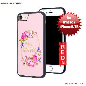 Picture of Viva Madrid Fleur Synthetic Leather with Embrodery Case for Apple iPhone 7 iPhone 8 4.7 iPhone 6S 4.7 - Pink Apple iPhone 8- Apple iPhone 8 Cases, Apple iPhone 8 Covers, iPad Cases and a wide selection of Apple iPhone 8 Accessories in Malaysia, Sabah, Sarawak and Singapore