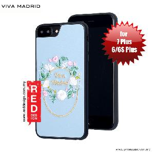Picture of Viva Madrid Fleur Synthetic Leather with Embrodery Case for Apple iPhone 7 Plus iPhone 8 Plus 5.5 iPhone 6S Plus 5.5 - Blue Apple iPhone 8 Plus- Apple iPhone 8 Plus Cases, Apple iPhone 8 Plus Covers, iPad Cases and a wide selection of Apple iPhone 8 Plus Accessories in Malaysia, Sabah, Sarawak and Singapore