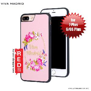 Picture of Viva Madrid Fleur Synthetic Leather with Embrodery Case for Apple iPhone 7 Plus iPhone 8 Plus 5.5 iPhone 6S Plus 5.5 - Pink Apple iPhone 8 Plus- Apple iPhone 8 Plus Cases, Apple iPhone 8 Plus Covers, iPad Cases and a wide selection of Apple iPhone 8 Plus Accessories in Malaysia, Sabah, Sarawak and Singapore
