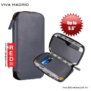 Picture of Viva Madrid Robusto Universal Weather Proof Wallet Case Phone Pocket for Apple iPhone X  or up to 5.5 - Gray Apple iPhone 5- Apple iPhone 5 Cases, Apple iPhone 5 Covers, iPad Cases and a wide selection of Apple iPhone 5 Accessories in Malaysia, Sabah, Sarawak and Singapore