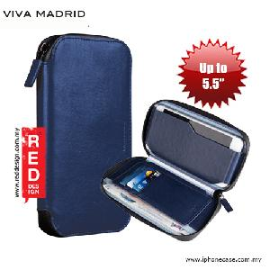 "Picture of Viva Madrid Robusto Universal Weather Proof Wallet Case Phone Pocket for Apple iPhone X or up to 5.5"" - Navy Blue Samsung Galaxy S7 Edge- Samsung Galaxy S7 Edge Cases, Samsung Galaxy S7 Edge Covers, iPad Cases and a wide selection of Samsung Galaxy S7 Edge Accessories in Malaysia, Sabah, Sarawak and Singapore"