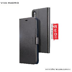 Picture of Viva Madrid Finura Cierre Flip Wallet Case for Apple iPhone X (Black) Apple iPhone X- Apple iPhone X Cases, Apple iPhone X Covers, iPad Cases and a wide selection of Apple iPhone X Accessories in Malaysia, Sabah, Sarawak and Singapore