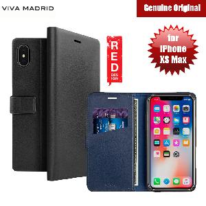 Picture of Viva Madrid FINURA CIERRE Wallet Folio Case for Apple iPhone XS Max (Black) Apple iPhone XS Max- Apple iPhone XS Max Cases, Apple iPhone XS Max Covers, iPad Cases and a wide selection of Apple iPhone XS Max Accessories in Malaysia, Sabah, Sarawak and Singapore