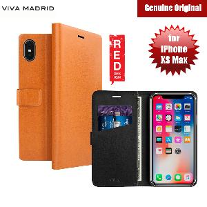 Picture of Viva Madrid FINURA CIERRE Wallet Folio Case for Apple iPhone XS Max (Brown) Apple iPhone XS Max- Apple iPhone XS Max Cases, Apple iPhone XS Max Covers, iPad Cases and a wide selection of Apple iPhone XS Max Accessories in Malaysia, Sabah, Sarawak and Singapore