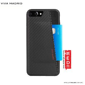 Picture of Viva Madrid Card Case Grafito Racha Series for iPhone 7 Plus iPhone 8 Plus 5.5 - Black Apple iPhone 8 Plus- Apple iPhone 8 Plus Cases, Apple iPhone 8 Plus Covers, iPad Cases and a wide selection of Apple iPhone 8 Plus Accessories in Malaysia, Sabah, Sarawak and Singapore