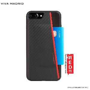 Picture of Viva Madrid Card Case Grafito Racha Series for iPhone 7 Plus iPhone 8 Plus 5.5 - Red Apple iPhone 8 Plus- Apple iPhone 8 Plus Cases, Apple iPhone 8 Plus Covers, iPad Cases and a wide selection of Apple iPhone 8 Plus Accessories in Malaysia, Sabah, Sarawak and Singapore
