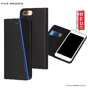 Picture of Viva Madrid Grafito Racha Flip Cover Case for Apple iPhone 7 Plus iPhone 8 Plus 5.5 - Blue Apple iPhone 8 Plus- Apple iPhone 8 Plus Cases, Apple iPhone 8 Plus Covers, iPad Cases and a wide selection of Apple iPhone 8 Plus Accessories in Malaysia, Sabah, Sarawak and Singapore