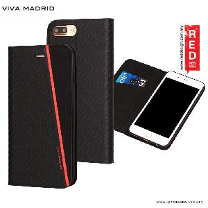 Picture of Viva Madrid Grafito Racha Flip Cover Case for Apple iPhone 7 Plus iPhone 8 Plus 5.5 - Red Apple iPhone 8 Plus- Apple iPhone 8 Plus Cases, Apple iPhone 8 Plus Covers, iPad Cases and a wide selection of Apple iPhone 8 Plus Accessories in Malaysia, Sabah, Sarawak and Singapore