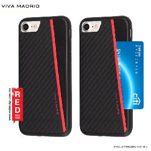 Picture of Viva Madrid Card Case Grafito Racha Series for iPhone 7 iPhone 8 4.7 - Red Apple iPhone 8- Apple iPhone 8 Cases, Apple iPhone 8 Covers, iPad Cases and a wide selection of Apple iPhone 8 Accessories in Malaysia, Sabah, Sarawak and Singapore
