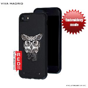 Picture of Viva Madrid  Embroidery Fashion Artwork Back Case for Apple iPhone 6S 4.7 iPhone 7 iPhone 8 4.7 - Night Owl Apple iPhone 8- Apple iPhone 8 Cases, Apple iPhone 8 Covers, iPad Cases and a wide selection of Apple iPhone 8 Accessories in Malaysia, Sabah, Sarawak and Singapore