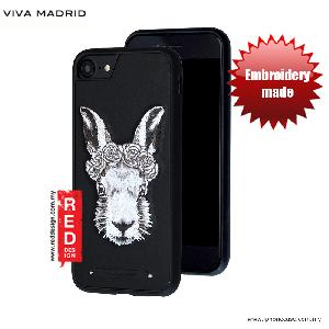 Picture of Viva Madrid  Embroidery Fashion Artwork Back Case for Apple iPhone 6S 4.7 iPhone 7 iPhone 8 4.7 - White Rabbit Apple iPhone 8- Apple iPhone 8 Cases, Apple iPhone 8 Covers, iPad Cases and a wide selection of Apple iPhone 8 Accessories in Malaysia, Sabah, Sarawak and Singapore
