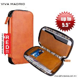 Picture of Viva Madrid Robusto Universal Weather Proof Wallet Case Phone Pocket for Apple iPhone 8 Galaxy Note 8 or up to 5.5 - Brown Samsung Galaxy S7 Edge- Samsung Galaxy S7 Edge Cases, Samsung Galaxy S7 Edge Covers, iPad Cases and a wide selection of Samsung Galaxy S7 Edge Accessories in Malaysia, Sabah, Sarawak and Singapore