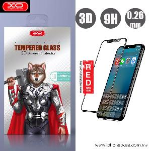 Picture of XO 3D High Quality Tempered Glass for Apple iPhone X (Black) Apple iPhone X- Apple iPhone X Cases, Apple iPhone X Covers, iPad Cases and a wide selection of Apple iPhone X Accessories in Malaysia, Sabah, Sarawak and Singapore