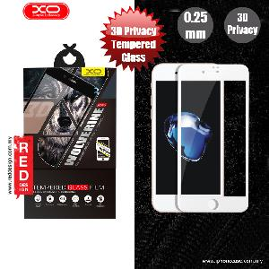Picture of XO 3D PET Privacy Anti View Tempered Glass for Apple iPhone 7 Plus iPhone 8 Plus 5.5 - White Apple iPhone 8 Plus- Apple iPhone 8 Plus Cases, Apple iPhone 8 Plus Covers, iPad Cases and a wide selection of Apple iPhone 8 Plus Accessories in Malaysia, Sabah, Sarawak and Singapore