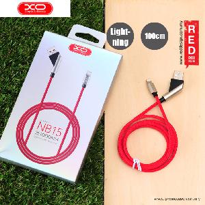 Picture of XO Elbow Design Series Fast Charge Lightning Cable for iPhone 6 iPhone 7 - Red Red Design- Red Design Cases, Red Design Covers, iPad Cases and a wide selection of Red Design Accessories in Malaysia, Sabah, Sarawak and Singapore