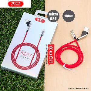 Picture of XO Elbow Design Series Fast Charge Micro USB Cable - Red Red Design- Red Design Cases, Red Design Covers, iPad Cases and a wide selection of Red Design Accessories in Malaysia, Sabah, Sarawak and Singapore