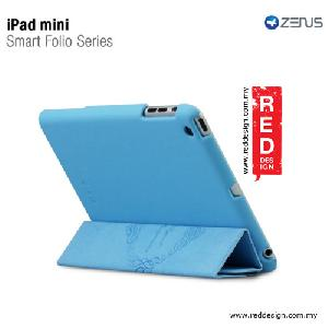 Picture of Zenus iPad Mini Case Smart Folio Cover Series - Sky Blue Apple iPad Mini- Apple iPad Mini Cases, Apple iPad Mini Covers, iPad Cases and a wide selection of Apple iPad Mini Accessories in Malaysia, Sabah, Sarawak and Singapore