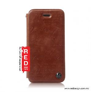 Picture of Zenus iPhone 5 Lettering Diary Collection - Brown Apple iPhone 5- Apple iPhone 5 Cases, Apple iPhone 5 Covers, iPad Cases and a wide selection of Apple iPhone 5 Accessories in Malaysia, Sabah, Sarawak and Singapore