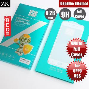 Picture of ZK Full Cover Premium Tempered Glass for OPPO R9S (White) OPPO R9s- OPPO R9s Cases, OPPO R9s Covers, iPad Cases and a wide selection of OPPO R9s Accessories in Malaysia, Sabah, Sarawak and Singapore