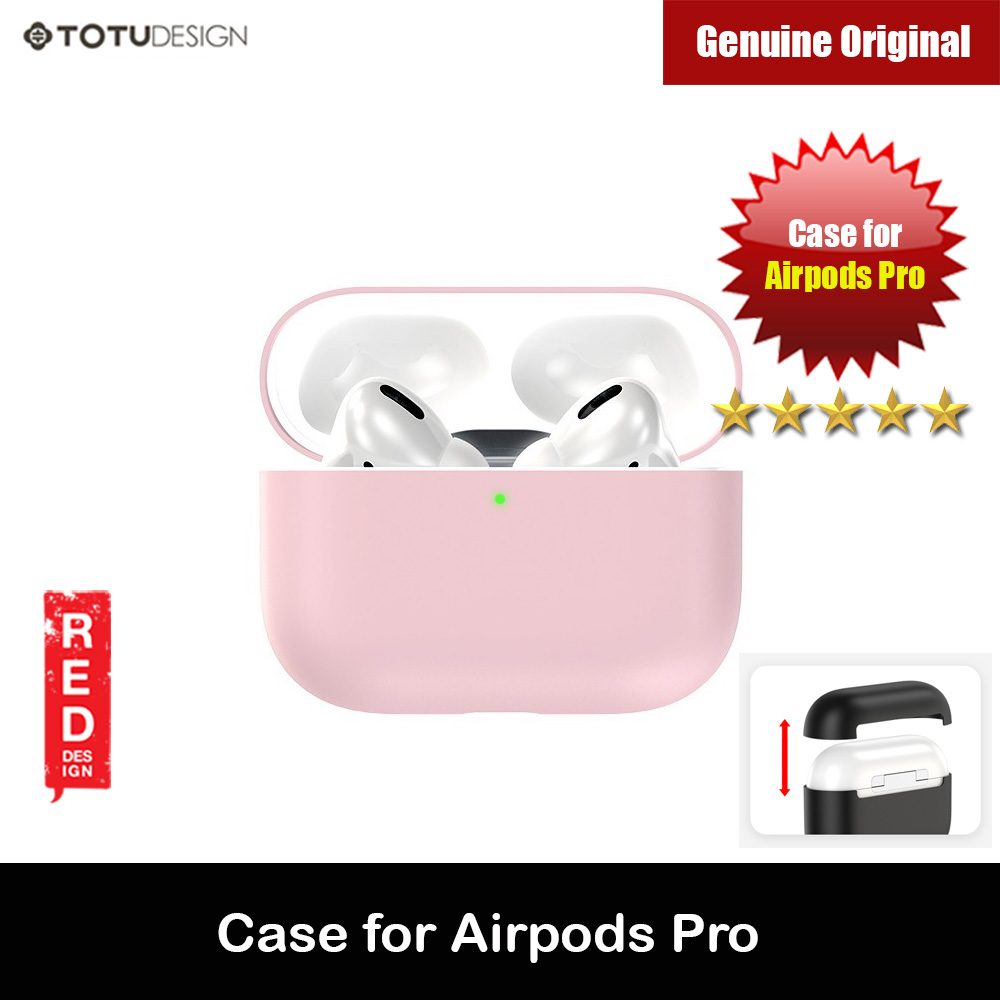 Picture of Totu Thin Drop Protection Liquid Silicone Soft Case for Airpods Pro (Pink) Apple Airpods Pro- Apple Airpods Pro Cases, Apple Airpods Pro Covers, iPad Cases and a wide selection of Apple Airpods Pro Accessories in Malaysia, Sabah, Sarawak and Singapore