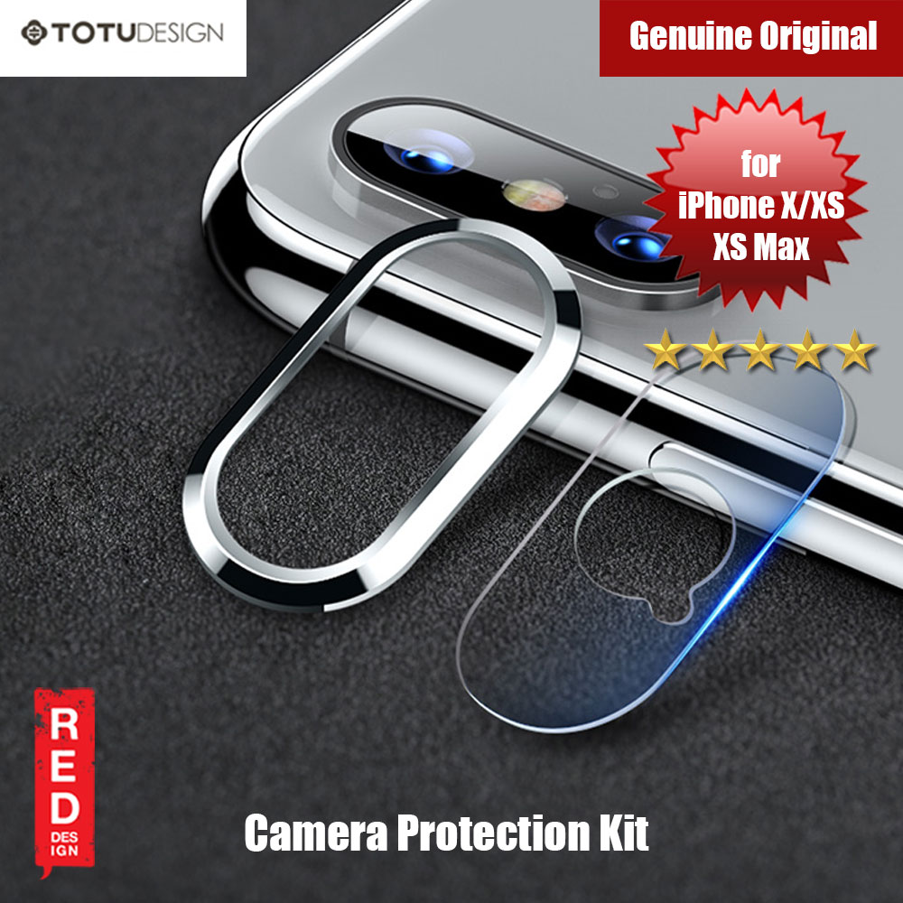 Picture of Totu Ring Series Camera Lens Kit for iPhone XS iPhone XS Max (Silver) Apple iPhone X- Apple iPhone X Cases, Apple iPhone X Covers, iPad Cases and a wide selection of Apple iPhone X Accessories in Malaysia, Sabah, Sarawak and Singapore