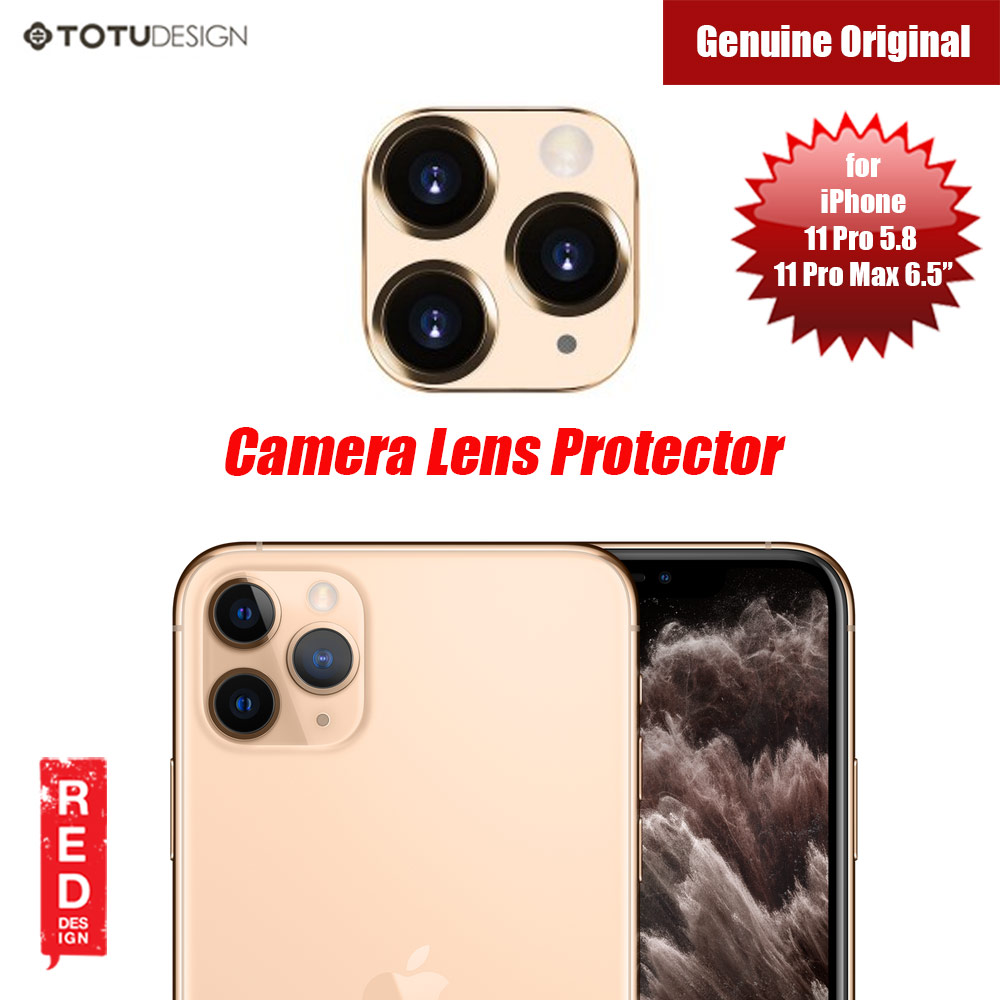 Picture of Totu Series Camera Lens Protection for iPhone 11 Pro 5.8 iPhone 11 Pro Max 6.5 (Gold) Apple iPhone 11 Pro Max 6.5- Apple iPhone 11 Pro Max 6.5 Cases, Apple iPhone 11 Pro Max 6.5 Covers, iPad Cases and a wide selection of Apple iPhone 11 Pro Max 6.5 Accessories in Malaysia, Sabah, Sarawak and Singapore