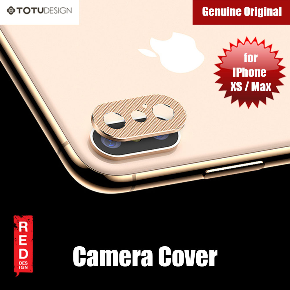 Picture of Totu Series Camera Lens Cover for iPhone XS iPhone XS Max (Gold) Apple iPhone X- Apple iPhone X Cases, Apple iPhone X Covers, iPad Cases and a wide selection of Apple iPhone X Accessories in Malaysia, Sabah, Sarawak and Singapore