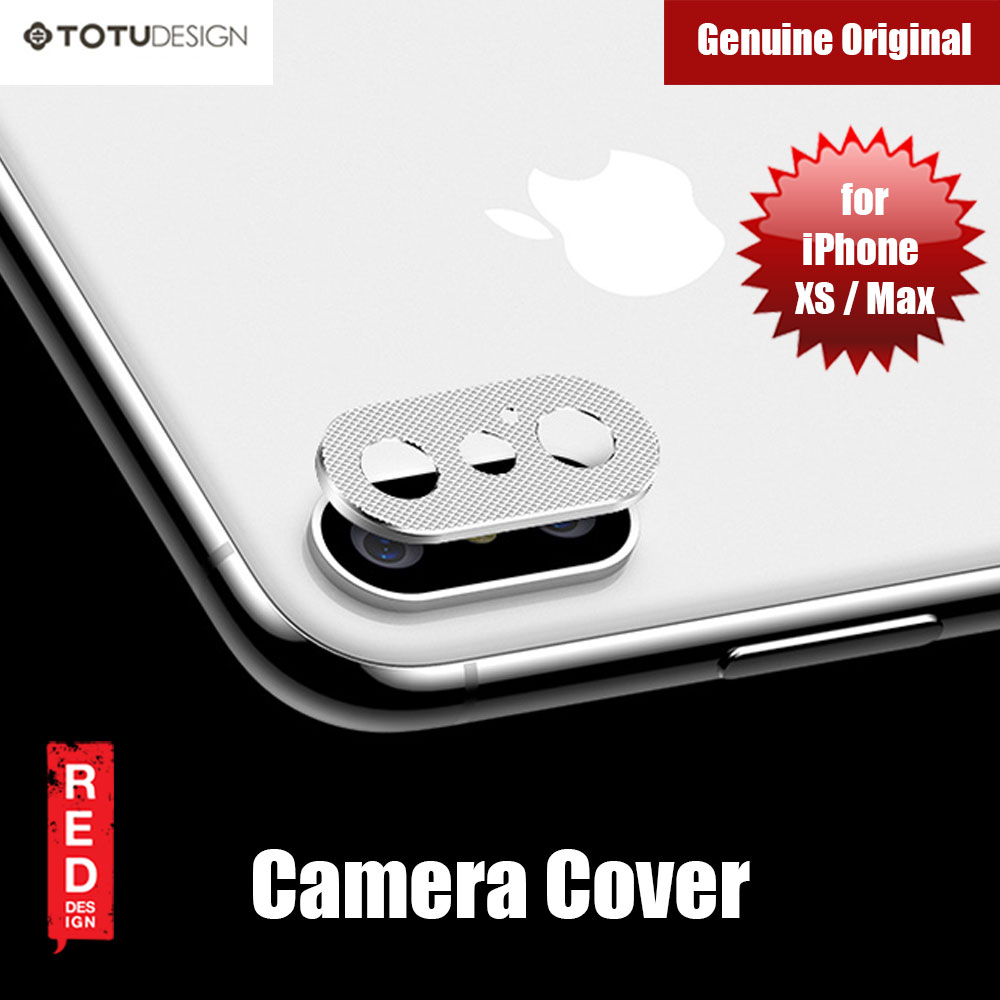Picture of Totu Series Camera Lens Cover for iPhone XS iPhone XS Max (Silver) Apple iPhone X- Apple iPhone X Cases, Apple iPhone X Covers, iPad Cases and a wide selection of Apple iPhone X Accessories in Malaysia, Sabah, Sarawak and Singapore