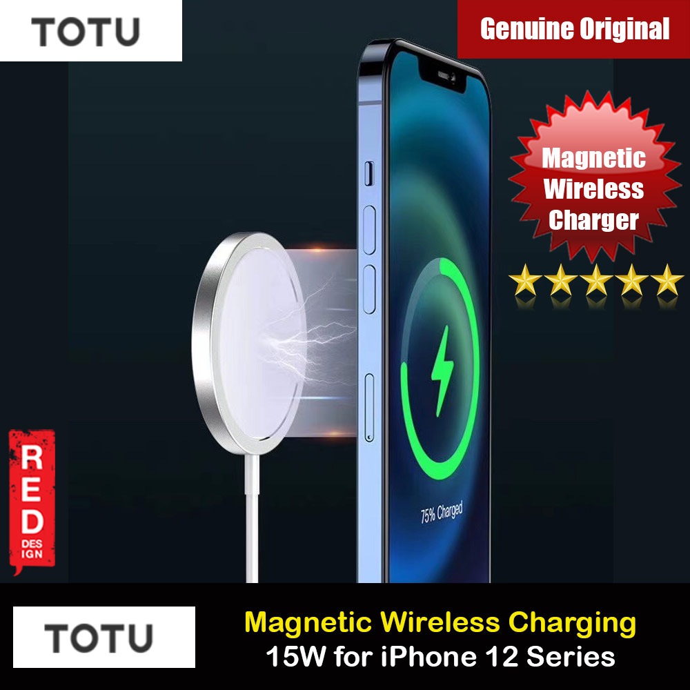 Picture of Totu 15W Magnetic Magsafe Fast Portable Wireless Charger 15W For Iphone 12 iPhone 12 Pro Max Series Charger Wireless Charger Even with Phone Case Apple iPhone 12 mini 5.4- Apple iPhone 12 mini 5.4 Cases, Apple iPhone 12 mini 5.4 Covers, iPad Cases and a wide selection of Apple iPhone 12 mini 5.4 Accessories in Malaysia, Sabah, Sarawak and Singapore